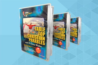 Deane Hutton - Table Top Science Christian Parables  DVD